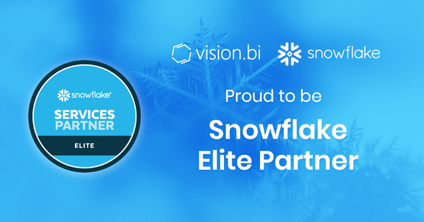 Vision.bi Achieves Elite Status in Snowflake Partner Network
